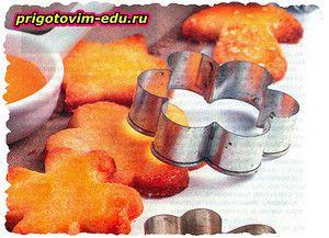 Мягкое творожно - банановое диетическое печенье