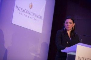H Ο. Κεφαλογιάννη στο συνέδριο του Ομίλου Intercontinental Hotels Group (IHG)