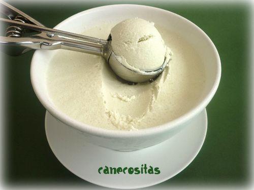 Ensalada con helado de roquefort 4