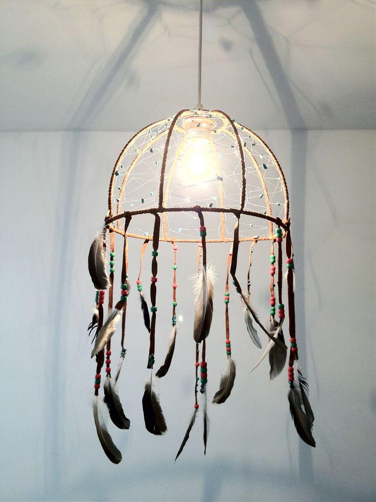 Lampe Dreamcatcher click for tutorial