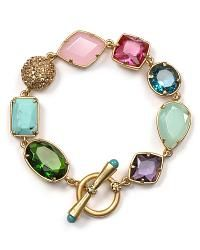 Carolee Lux Candy Couture Mixed Shape Bracelet - Bracelets - Jewelry - Jewelry & Accessories - Bloomingdale\\\'s