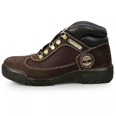 Timberland Field Boot P & G Mens 53510 Brown Gold Nubuck Boots Shoes Size 9.5