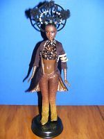 AA AFRICAN AMERICAN MOJA BARBIE BY BYRON LARS - WITH SHIPPER BOX - MINT