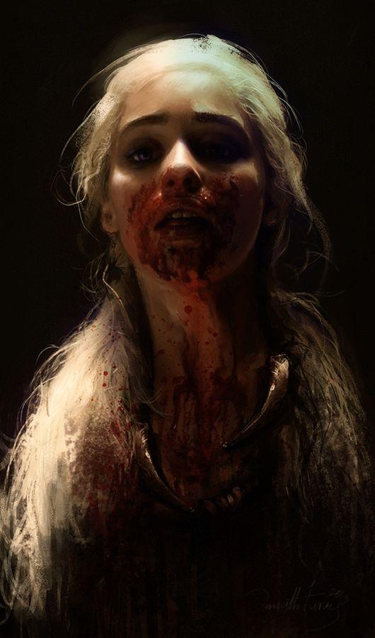 Daenerys Targaryen - Game of Thrones - Ania Mitura