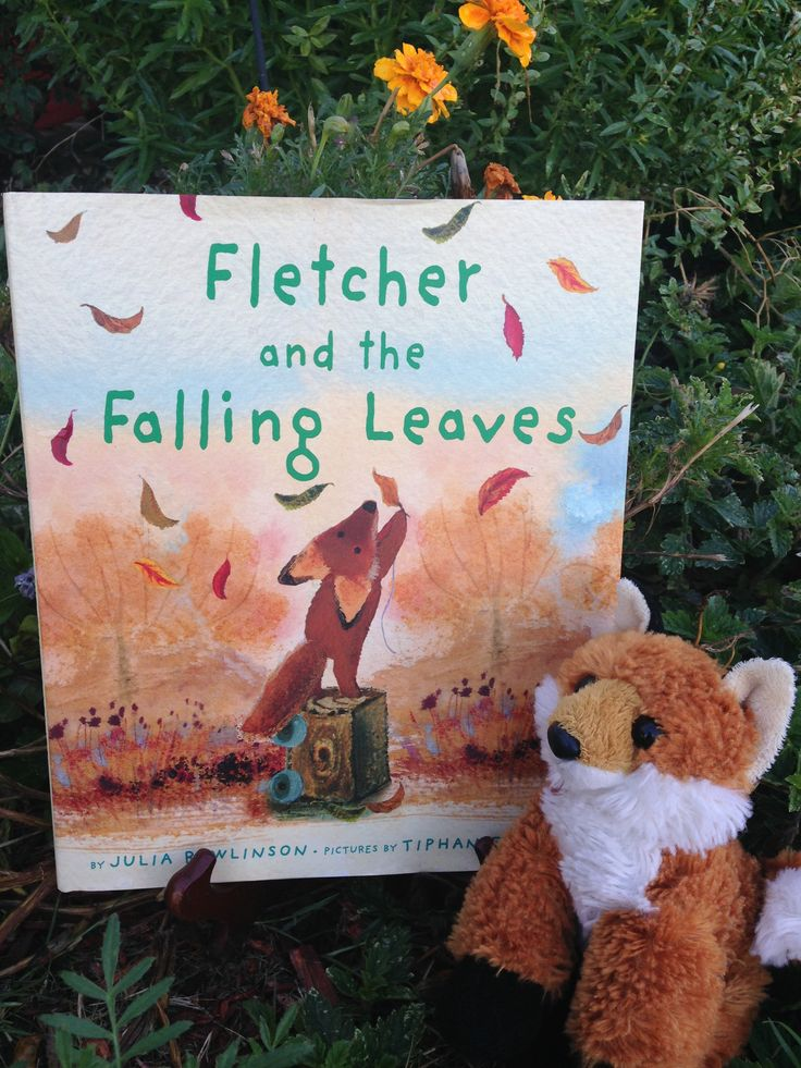 Kid-friendly Book Guide to Fletcher and the Falling Leaves by Julia Rawlinson; Includes Story Summary with Correlating Activities, Questions, Crafts, and Props.