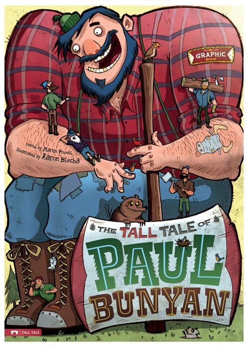 88 best tall tales images on pinterest tall tales teaching the tall tale of paul bunyan pronofoot35fo Gallery