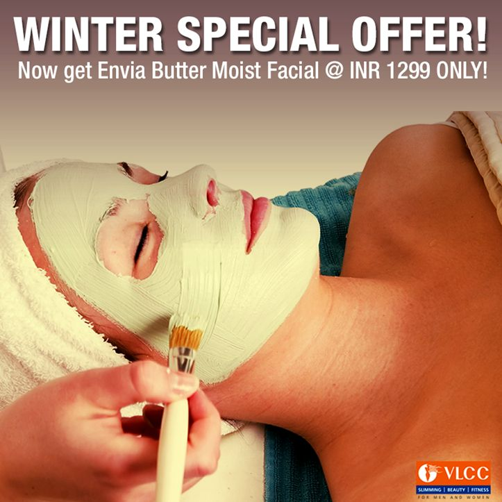 Winter special offer! Now get Envia Butter Moist Facial only @INR 1299!  Book an appointment now: http://bit.ly/1z6icq0