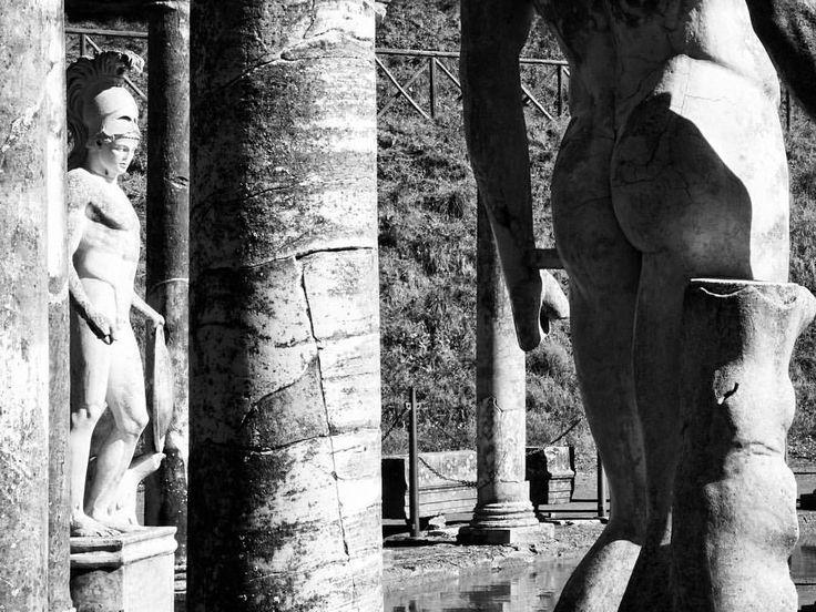 Marble. Villa Adriana (Tivoli) #roadmance #tivoli #bw