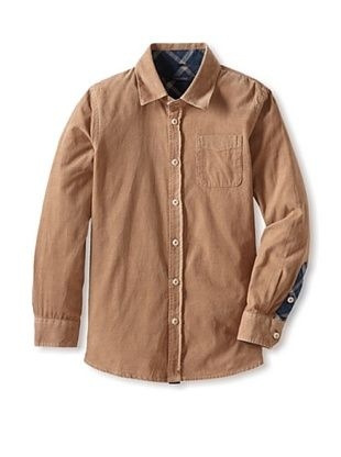 50% OFF Silvian Heach Boy's Corduroy Shirt (Anfora)