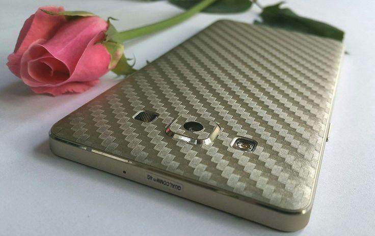 Folii Carbon 3M Gold Samsung Galaxy A5.