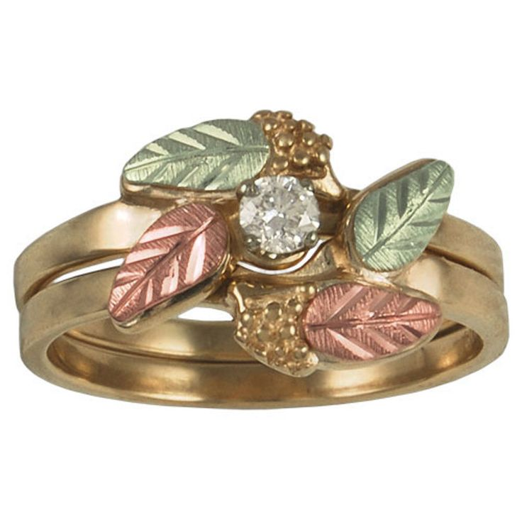 Green Earth Engagement Rings