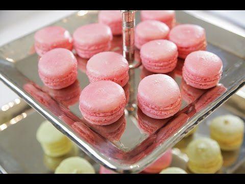 Makaron Nasıl Yapılır ? - İdil Tatari - Yemek Tarifleri - French Macarons - YouTube