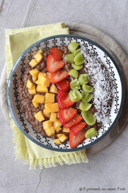 Experimente aus meiner Küche: Zoats - Schokoladenporridge --> 8 SP