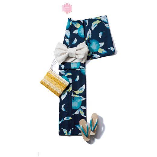 ● 今買って5年後まで着られる、大人浴衣・厳選6つ  子どもっぽい浴衣からは、そろそろ卒業したい。 今年の夏は、未来の自分へ繋がる「とっておき」を手に入れてみませんか? ベーシックな大人顔の一枚なら、帯や小物で雰囲気を変えて、この先も長く楽しめます。 ・ ・ 【二】 飽きのこない鮮やかな蕗の葉柄に、可憐な大人心をそっと託して ・ #anecan #anecan7 #yukata #浴衣 #ゆかた #コーディネート #夏 #和服