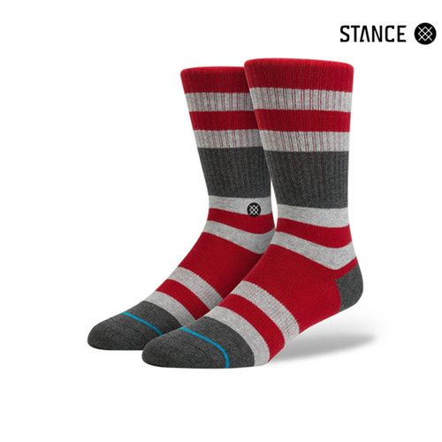 Plead guilty to Stance's Charges. For an especially smooth ride, this classic crew sock sports premium combed cotton and light cushioning. A reinforced heel and toe provide additional durability while
