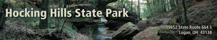 Hocking Hills State Park is my backyard (2 hours away) and I've never been