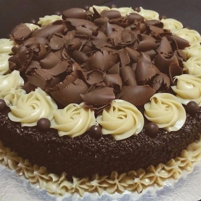 Bolo De Chocolate Ao Creme Chiffon Receita Bolo De Chocolate