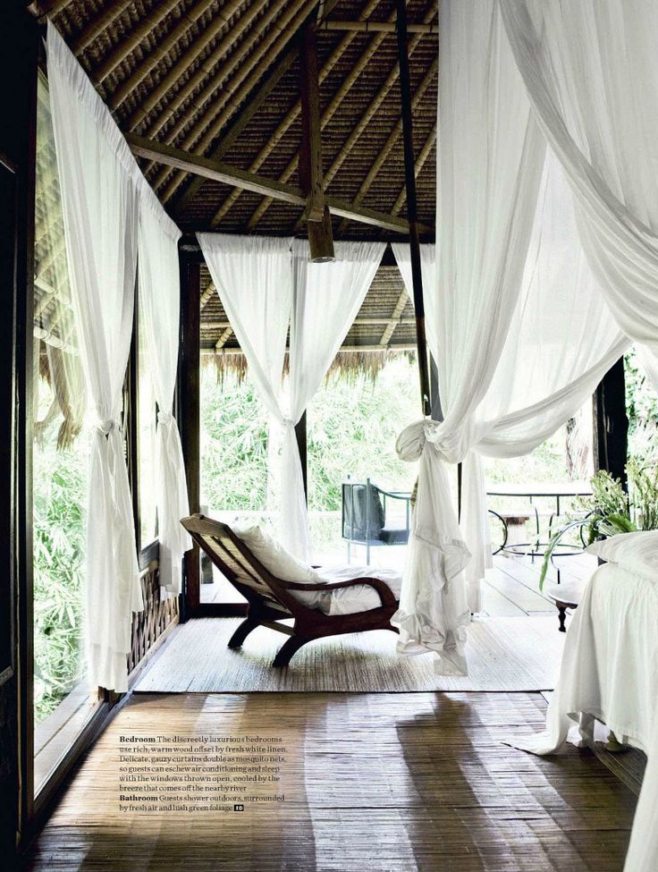 Amazing tropical home with a bedroom that dreams are made from. in Bali built in the forest.