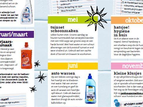 Handige schoonmaakkalender - Tips voor Thuis - Jumbo Supermarkten