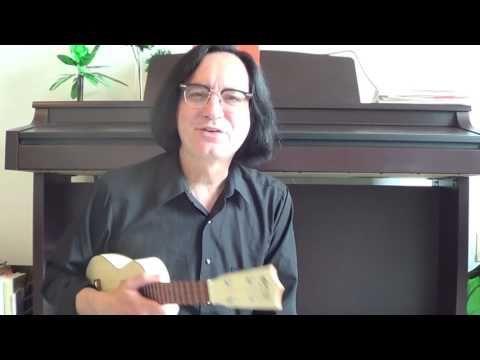 (39) Completely Useless Ukulele Tip #3: Zombie Slides - YouTube