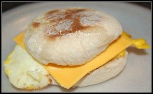 Egg McMuffin - Just like McDonald's for only a fraction of the cost.  #breakfast on http://www.stockpilingmoms.com/2011/07/egg-mcmuffin/