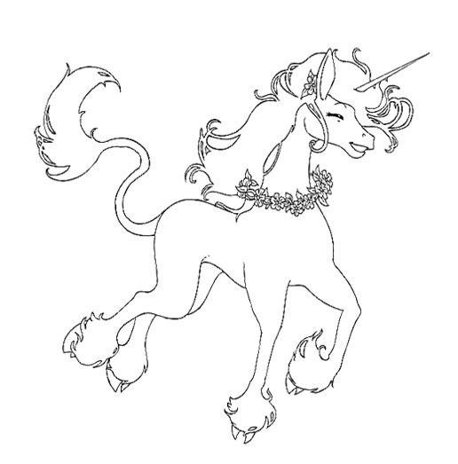 Unicorn Coloring Pages Online UNICORNS Unicorn