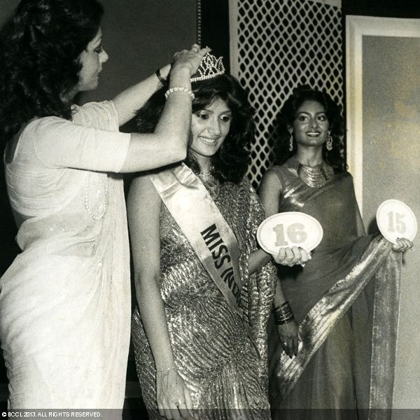 Christabelle Howie - Miss India 1991 from TN (Chennai)