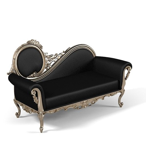 piermaria eleonora chaise lounge classic carved baroque luxury victorian couch seat ottoman bedroom