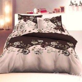 Lenjerie de pat din bumbac satinat Cottonissima Tanita maro 2 persoane. Detalii aici: http://www.asternuturisiprosoape.ro/lenjerie-de-pat-din-bumbac-satinat-cottonissima-tanita-maro-2-persoane.html