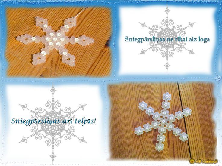 Hama snowflake