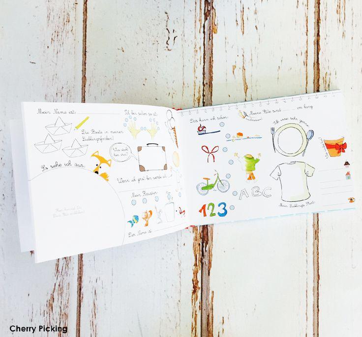 Freundebuch Kindergarten XXL Ohne Tasche - cherry-picking-shops Webseite!