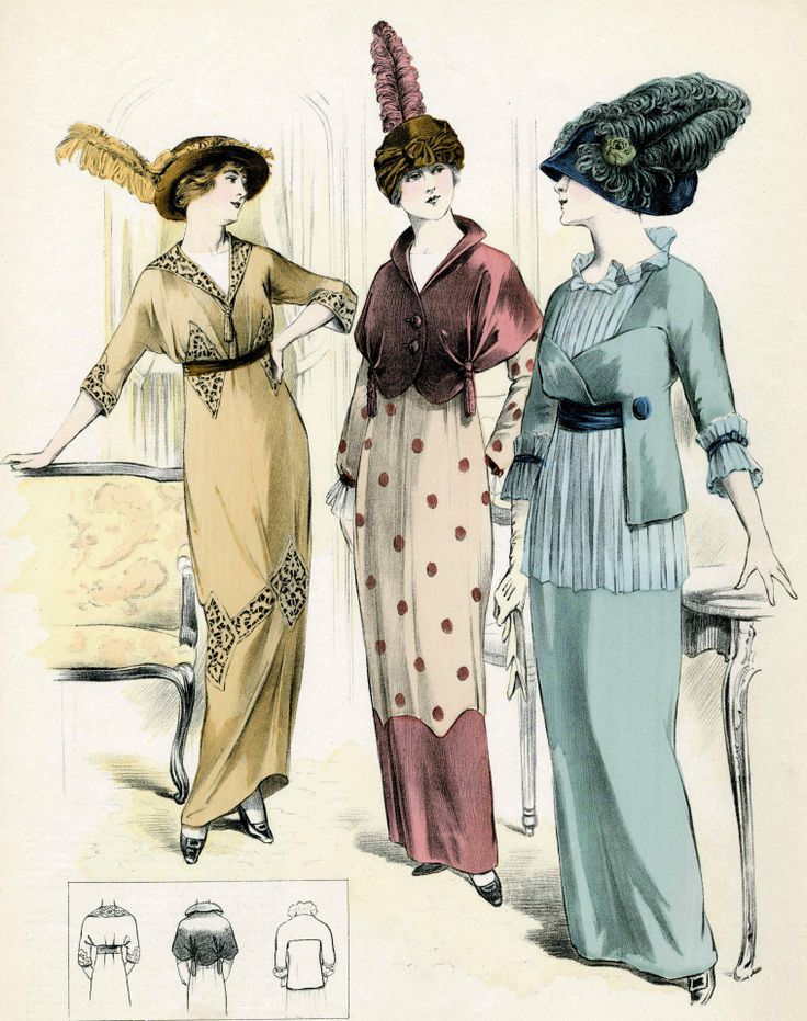 Fashion 1914 1910 1919 Fashion Pinterest