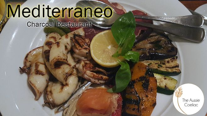 Mediterraneo Charcoal Restaurant – Coeliac Society Accredited