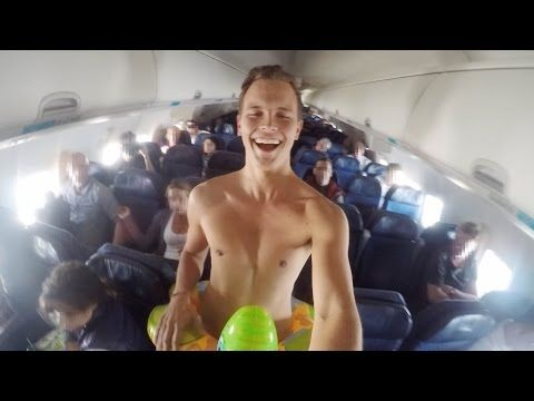 Forget Snakes on a Plane...Here's Speedo on a Plane - http://theforwardcabin.com/2014/11/01/forget-snakes-plane-heres-speedo-plane/