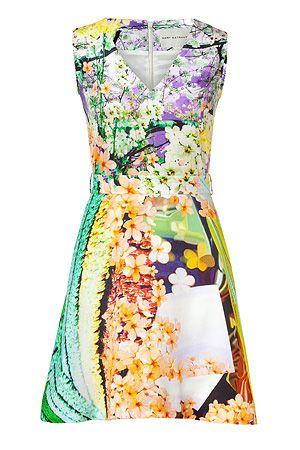 Mary Katrantzou: Marykatrantzou, Floral Prints, Fashion, Floral Print Dresses, Katrantzou Multicolor, Style, Mary Katrantzou, Multicolor Floral