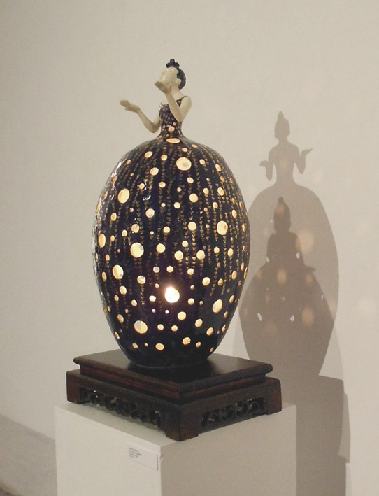 "Audrey Rudnick   ""Absolutely Fabergé""  Sculpture Clay"