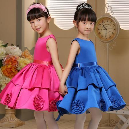 Ребенок Принцесса платье платья хост 2015 pettiskirt девушка платье юбка вечернее платье Одежда детская для девочек зимняя  — 606.87р.