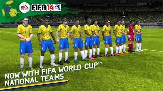 FIFA 14 1.3.6 MOD Apk  OBB (Full Unlocked)  Android Games  Now with officially licensed 2014 FIFA World Cup Brazil national teams kits and Adidas Brazuca ball! Welcome to the most authentic football game for Android smartphones and tablets. Feel the excitement of every pass shot and tackle with new touch controls. Plus live every moment of real-world football mastery with EA SPORTS Football Club Match Day. Get in there with FIFA 14!This app offers in-app purchases. You may disable in-app…