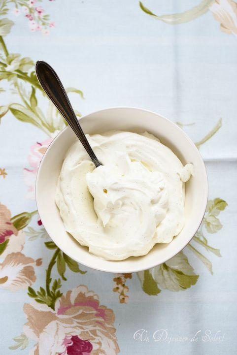 Un dejeuner de soleil: Crème chantilly au mascarpone : recette et 3 astuc...