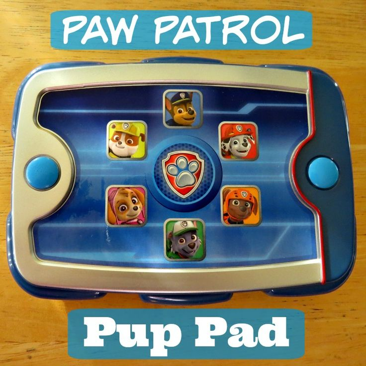 The Paw Patrol Pup Pad Toy for Kids #PawPatrol Toys are awesome!