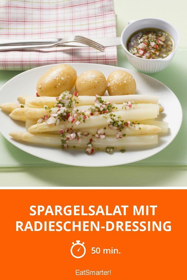 Spargelsalat mit Radieschen-Dressing - smarter - Zeit: 50 Min. | eatsmarter.de