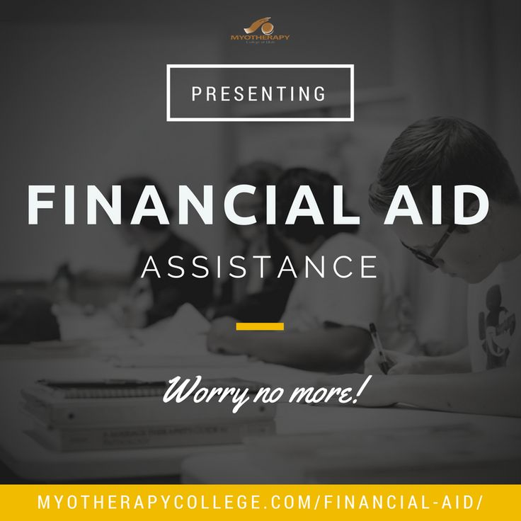 We can help you apply for FINANCIAL AID. Visit http://myotherapycollege.com/financial-aid/  for further assistance.