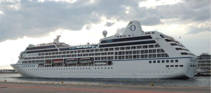 Το Insignia αποπλέει από τον Πειραιά. 20/06/2014.