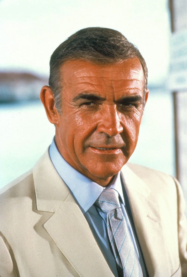 Sean Connery never say...