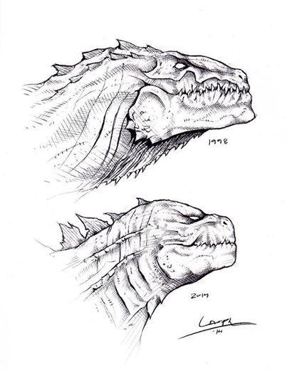 Godzilla Dibujos Best Haz Click