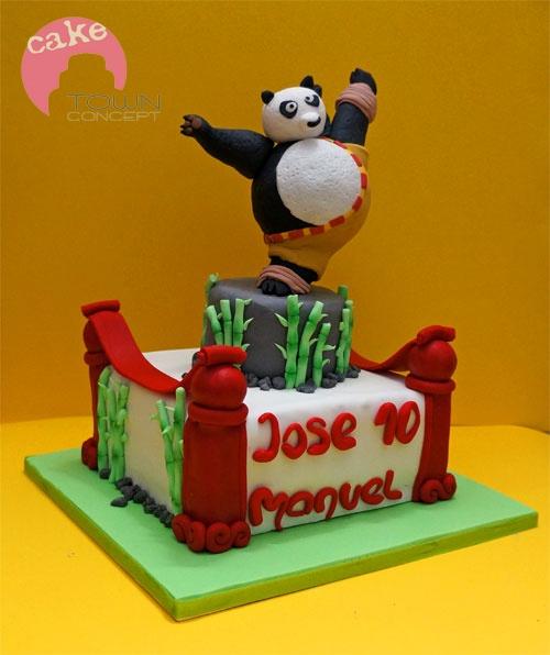 - Kung Fu Panda cake