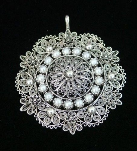 The gospel-round-pendant-end-of-filigree jewelry