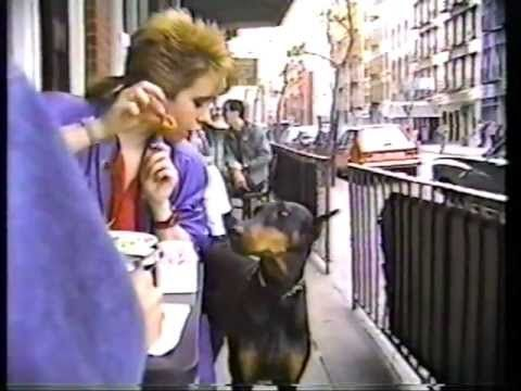 The First Nice Sunday of 1987 in the East Village - Nelson Sullivan