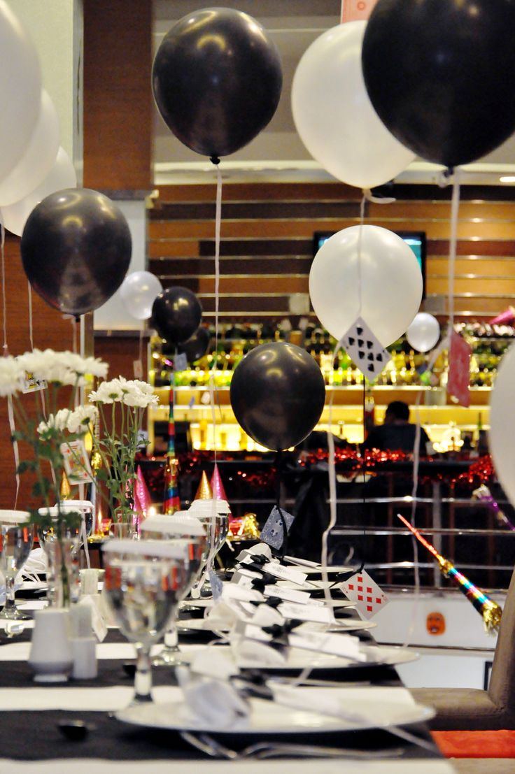 Exclusive New Year Eve Dinner at Sky Line Lounge. #decoration #balloon #5starhotel #hotel #beautiful #travel #traveller #dinner #blackwhite #bw #