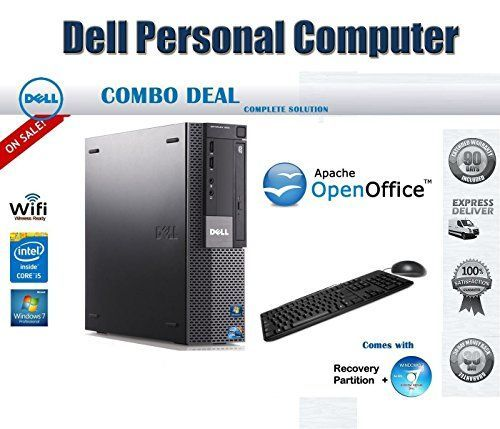 Introducing BLACK FRIDAY SALE  Dell OptiPlex 980 Small Form Factor Desktop Computer  Intel Core i5 650 32 GHz 4GB DDR2 500GB HDD Windows 7 Pro 64 Bit WiFi Keyboard Mouse. Great product and follow us for more updates!